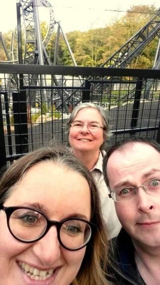 Alton Towers Selfie