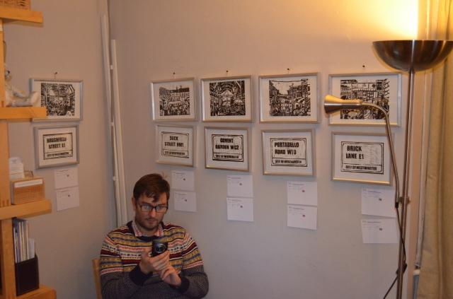 London Market Lino Prints by Katie Moritz