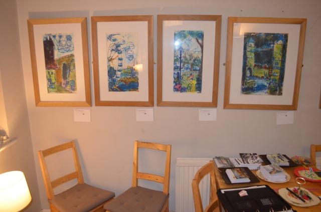 London Mono Prints by Katie Moritz