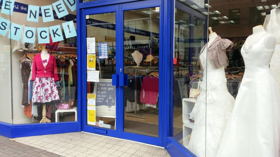 Nearly New Wedding Dresses For Sale At Mind Charity Shop In Harrow