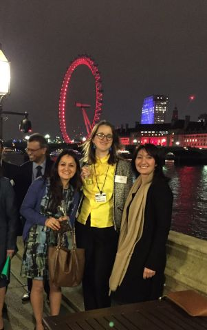 Houses of Lords Reception with Mentoring Harrow friends.