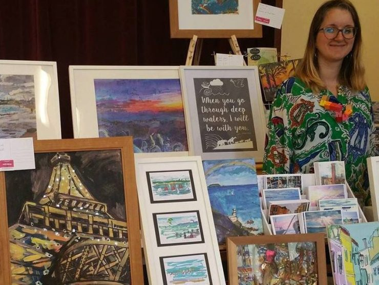 Come and see my art in real life at the Duck Pond Market and other London venues.