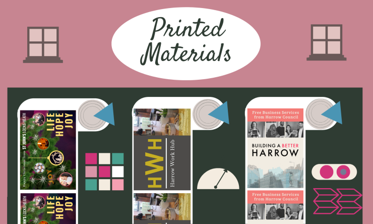 Printed Materials by the Joy Factory