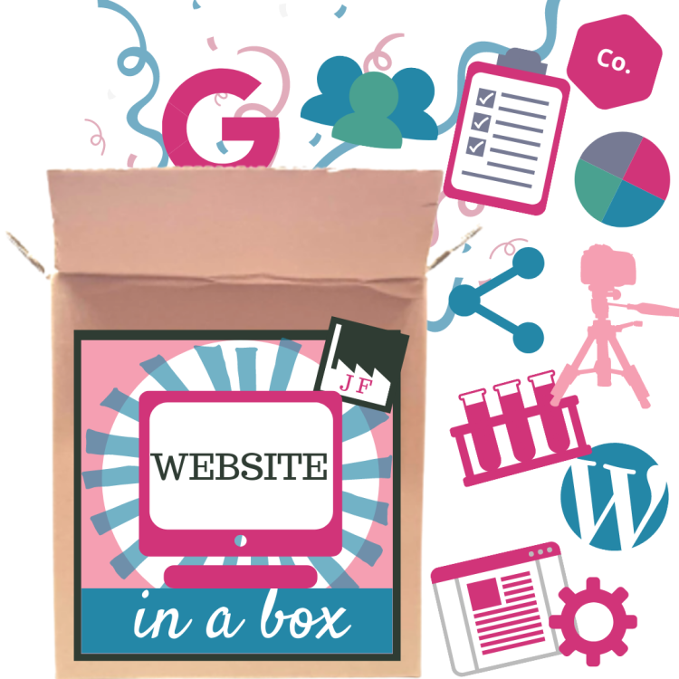 Website in a Box by the Joy Factory