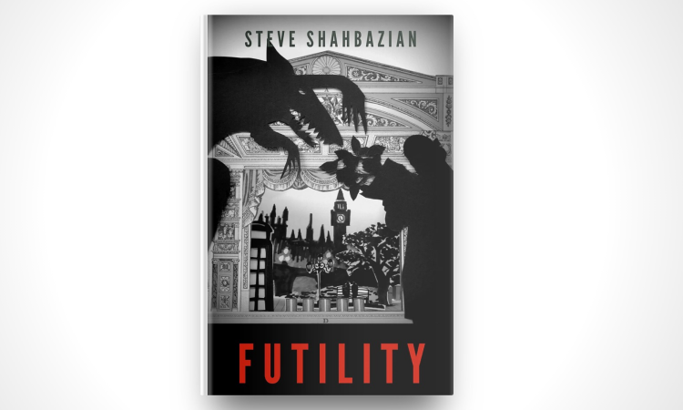 'Futility' book cover illustration by the Joy Factory