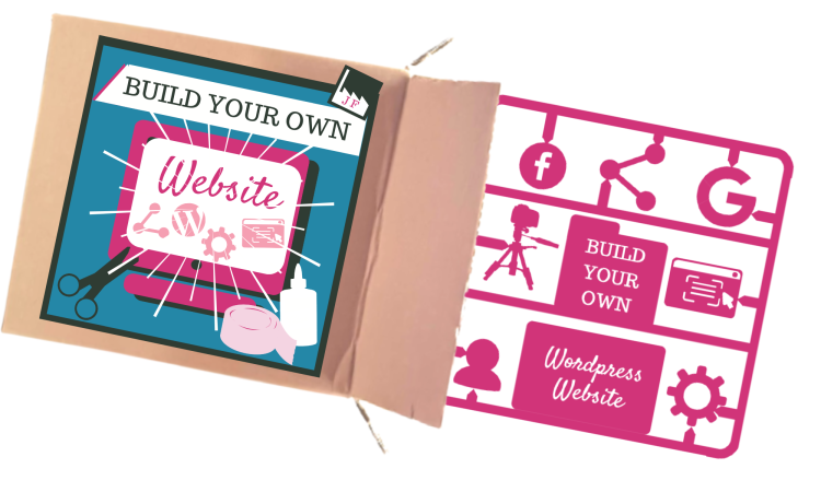 'Build your own Website' Courseby the Joy Factory